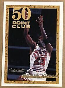1993-94 MICHAEL JORDAN TOPPS GOLD 50 POINT CLUB PARALLEL #64 CHICAGO BULLS
