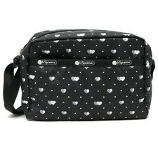 LeSportsac Love Me Most Daniella Crossbody Bag, Colorful Modern Hearts NWT F517