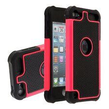 Apple iPod Touch 5 5th 6 6th Gen Heavy Duty Hybrid Hard Back Case Cover
