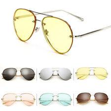 Sunglasses Women Men Vintage Retro Shades Glasses Metal Frame Eyewear