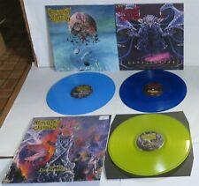 Malevolent Creation COLOR Vinyl 3 Record Stillborn Ten Commandments Retribution