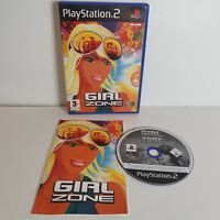 PS2 Girl Zone - Playstation 2 Game Rare Variant Cover