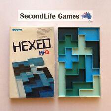 (Vintage) HEXED ~ Toltoys (1977). HI-Q. 13 Piece Rectangle Puzzle.