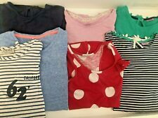 Bundle of Girl's Tops T-shirts, Vests Age 12 - 13 7 Items