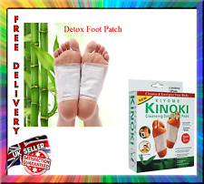 Body Detox Foot Pad Patches 10 Pads(5 Pairs) Kinoki Remove Harmful Toxins Health