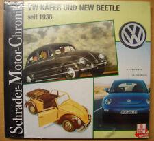 VW Käfer und New Beetle seit 1938 Modelle Typen Baureihen Schrader Chronik Buch