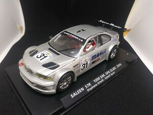 FLY  BMW M3 GTR DAYTONA 24H 2002 1/32 SLOT CAR  *USED