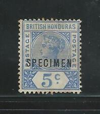 British Honduras: 1895; Scott 41, Specimen, Rare, Mint, No Gum, EBB023