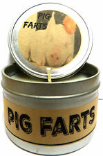 Pig Farts (smells like Bacon Bits) 4oz Candle Tin - Homemade Soy Candle Funny
