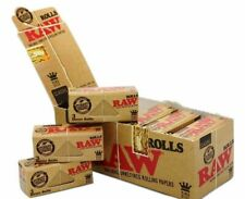 Raw Classic Rolls King Size Skins, Rolling Paper - Box of 12 Rolls Free Delivery