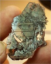 WOW! BEAUTIFUL 28 CARATS GEMMY WATER ETCHED AXINITE CRYSTAL @ PAKISTAN