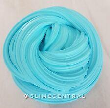 Azul brillante Fluffy Slime Masilla Juguete ASMR 4.5oz bórax libre de estrés