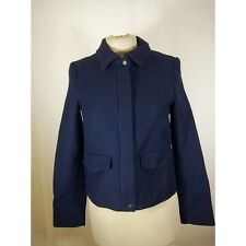 Sold out… Zara Women's Blue Cropped Jacket UK SIZE 6, XS, USED