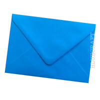 12 pack x A6 C6 Ocean Blue Premium Coloured Envelopes 100gsm - 114 x 162mm