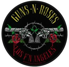 GUNS N' ROSES Los F'n Angeles Woven Patch Sew On Official Band Merch Brand new