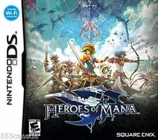 Heroes of Mana BRAND NEW SEALED (Nintendo DS, 2007)