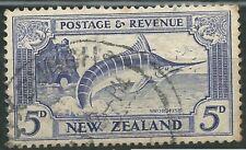 Nueva Zelanda Scott# 192 Usado Peces