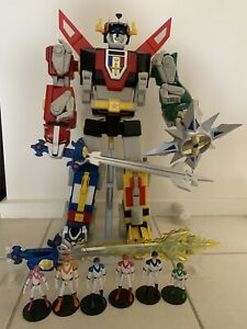 """VOLTRON Complete 23"""" Tall Mattel Action Figure Matty Collector Lion Force"""