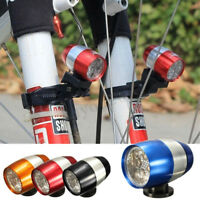 Pro 6 LED Bicycle HeadLight Waterproof Bike Front Flash Lamp Safety Rechargeable