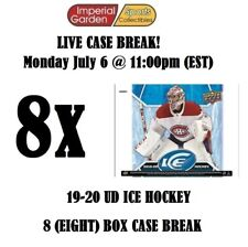 19-20 UD ICE 8 (EIGHT) BOX INNER CASE BREAK #1780 - Montreal Canadiens