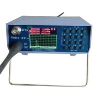UV UHF VHF dual band spectrum analyzer with tracking source tuning Duplexers.