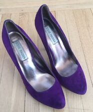 STEVE MADDEN Vivvaa Platform Stiletto Sexy Pumps Women US 7.5 Purple