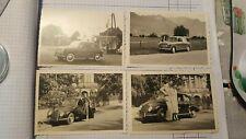 FOTO 4 Automobile anni 50 stazione Shell Groesbeek K54 ^