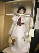 Croquet Statue 1985 Signature Collection Porcelain Doll Norman Rockwell
