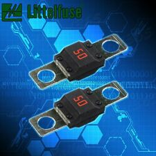 2pcs 50A AMP MIDI FUSES FOR DUAL BATTERY AND MEGA SOUND SYSTEMS AU STOCK