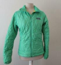 e2d6637b452 PATAGONIA womens XS bright green Primaloft poly filled diamond quilted  jacket