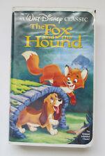The Fox and the Hound (VHS, 1994) Black Diamond The Classics #2041 - Walt Disney