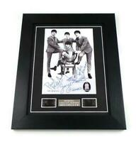 THE BEATLES Signed PREPRINT + A HARD DAYS NIGHT BEATLES FILM CELL FRAMED GIFTS