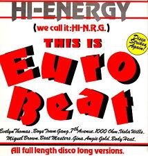 HI-ENERGY (we call it: HI-N.R.G.) - This Is Euro Beat 1989 (Vinile=M) LP Import