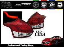 FANALI FARI POSTERIORI LDFO52 FORD FOCUS 3 2011 2012 2013 2014 HB RED LED
