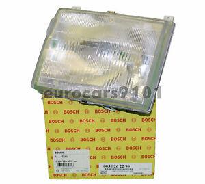 Mercedes Benz W124 OEM Bosch Left Halogen Headlamp Lens 0038262290 1305320491
