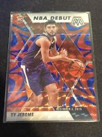 2019-20 Panini Mosaic Ty Jerome NBA Debut Blue Reactive Prizm Rookie Rc #273