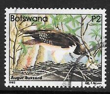 BOTSWANA SG532 1982 2p ANGUR BUZZARD  FINE USED