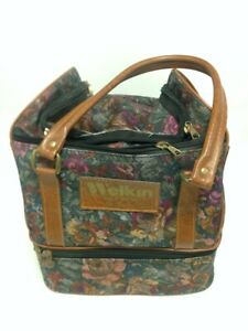 Welkin Bowling Bag And Four Almark Bowls Size 1H #202