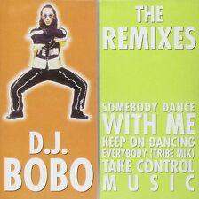 D.J. BOBO - THE REMIXES    / CD / NEU&OVP/SEALED!