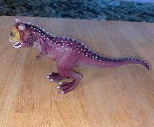 2012 Schleich Carnotaurus Dinosaur Figure Movable Jaw Prehistoric Replica