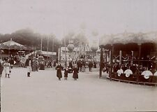PARIS Exposition 1900 - Manège Fête Foraine - 180