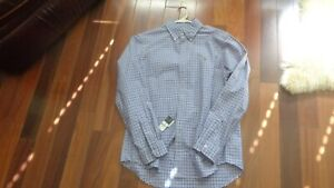 New with tags Mens Ralph Lauren Polo Long Sleeve Dress Shirt  L