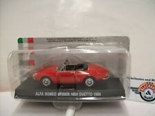"Alfa Romeo Spider (105) 1600 ""Duetto"", 1966, red, IXO 1:43, OVP"