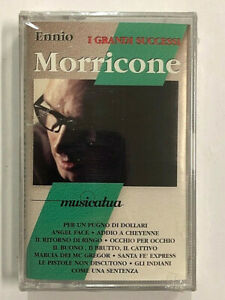 ENNIO MORRICONE - I GRANDI SUCCESSI - MC MUSICASSETTA  NUOVA SIGILLATA