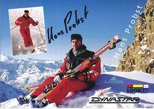 Hans Probst ski freestyle autografiada tarjeta firmada 374452