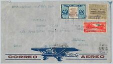 Birds -- GUATEMALA -  POSTAL HISTORY - AIRMAIL  COVER to SWITZERLAND 1939