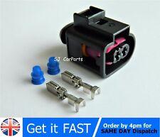 2 Pin Conector Impermeable Eléctrico Cuerno Enchufe Para Skoda VW Audi 4D0971992