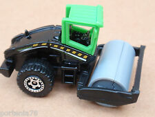 Matchbox ROAD ROLLER from 5 Pack LOOSE Black SILVER RIMS