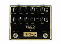 Friedman Amplification BE-OD Deluxe Overdrive - FREE 2 DAY SHIP