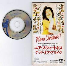 """DEAD OR ALIVE Your Sweetness Is Your Weakness JAPAN 3"""" CD ESDA7036 Unsnapped"""